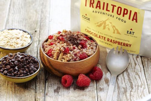 Picture of Raspberry Chocolate Oatmeal