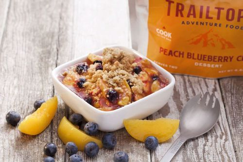 Picture of Peach Blueberry Crisp