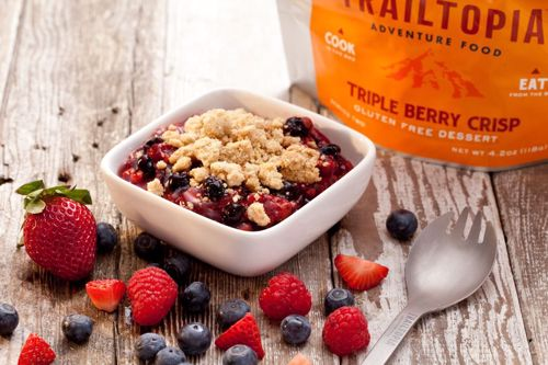 Picture of Gluten Free Triple Berry Crisp